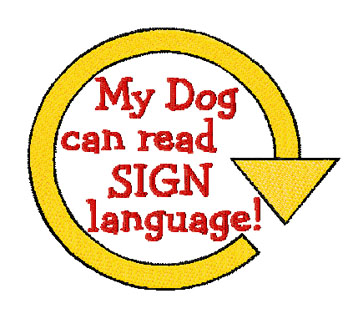 rally obedience sign language