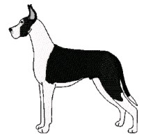great dane mantle