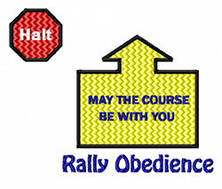 rally obedience design may the course