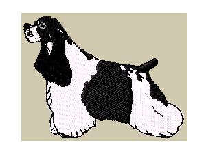 cocker spaniel parti color