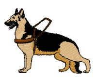 service dog, german shepherd